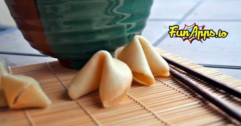 Crack Open Your Fortune Cookie, Click Here